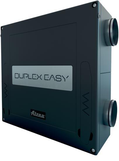 Hővisszanyerős szellőztető berendezések – ATREA Duplex Easy sorozat